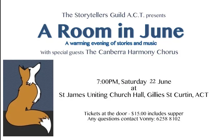 A Room in June (with ACT Storytellers Guild)